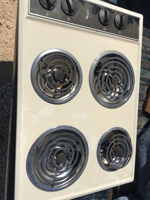 4 burner electric cooktop for RV or travel trailer for Sale in San Antonio, TX