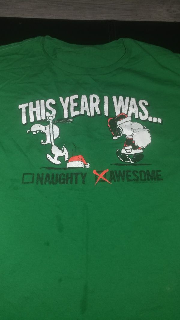 peanuts christmas shirt clothing shoes in phoenix az offerup - Peanuts Christmas Shirt