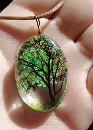 Photo Tree of life necklace
