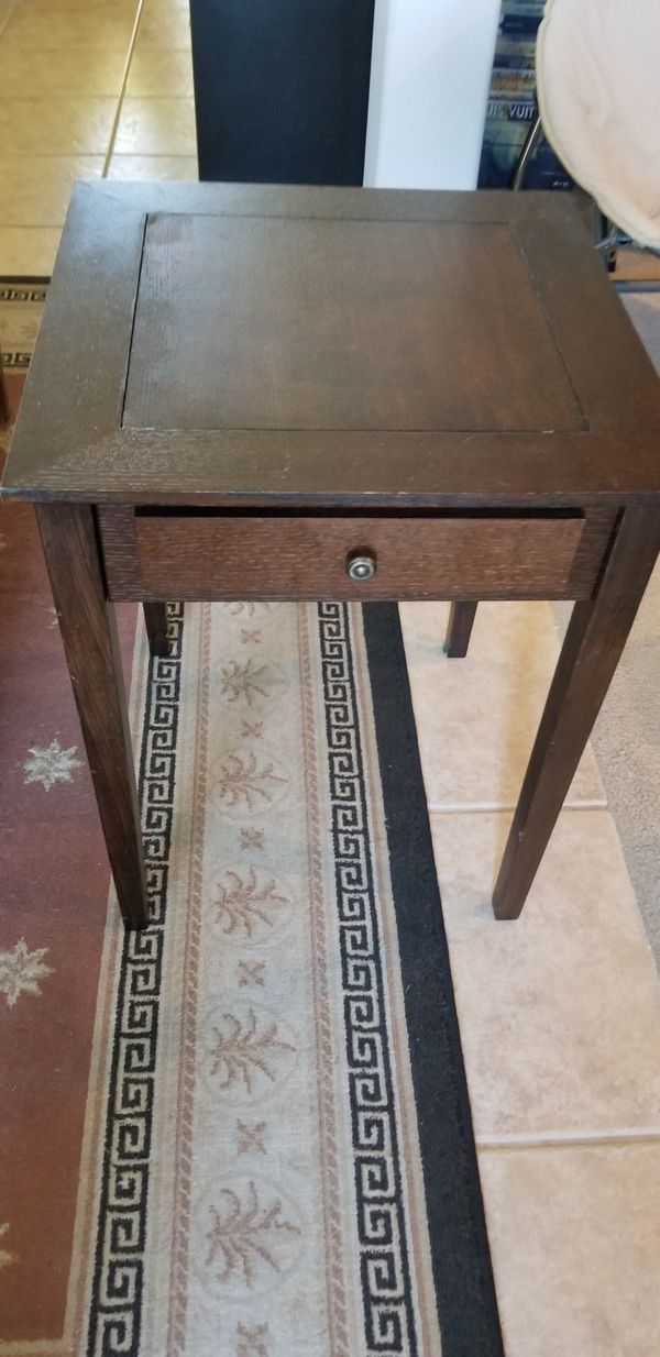 5 In 1 Wood End Table Game Table Monopoly Chest Checkers Backgammon For Sale In Mount Plymouth Fl Offerup