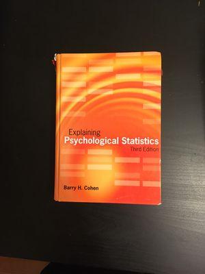 Explaining Psychological Statistics for Sale in Baltimore, MD
