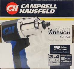 """Campbell Hausfeld 1/2"""" impact wrench for Sale in Kent, WA"""