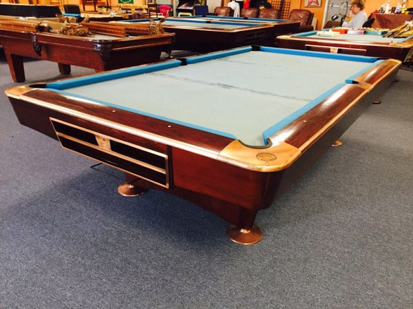 Crown Pools Inc: Brunswick Gold Crown 4 Pool Table For Sale In Spring Hill