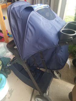 Cosco stroller, navy blue Thumbnail