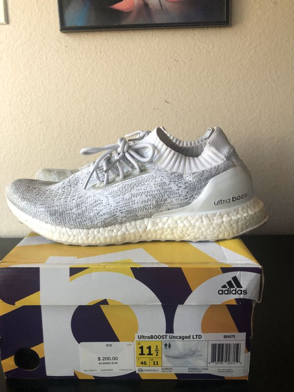 """low priced e811a ac661 Adidas Ultra Boost Uncaged """"White Reflective"""" 11.5 for Sale in Los Angeles,  CA - OfferUp"""