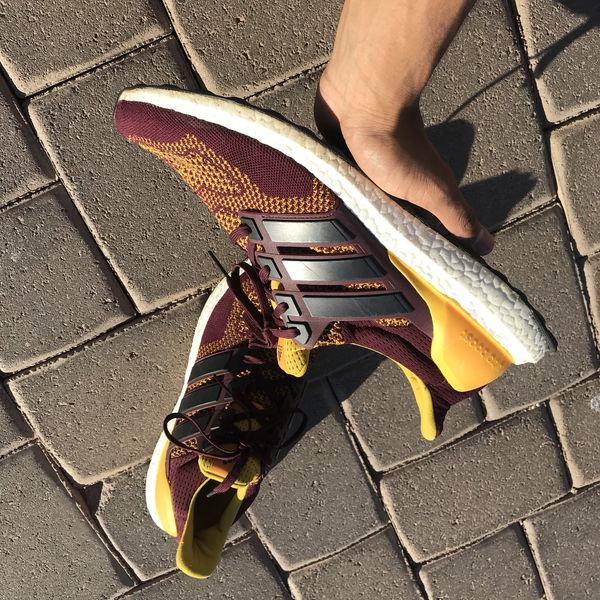 eb2face2c8b Men s asu ultra boost adidas ultraboost size 14 for Sale in Chandler ...