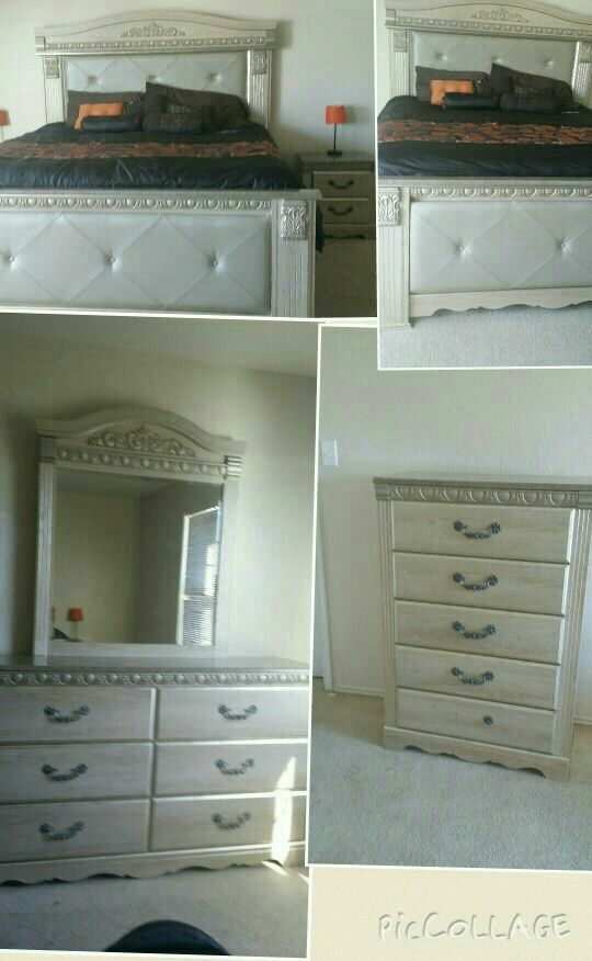 For Silverglade Mansion Bedroom Set Paid Over 5k It At Ashley S Furniture 1000 Obo Serious Ers Only I Need This Gone Today Houston