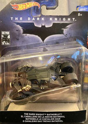 Photo Hot Wheels The Dark Knight Batmobile Tumbler 80 years of Batman series new mint