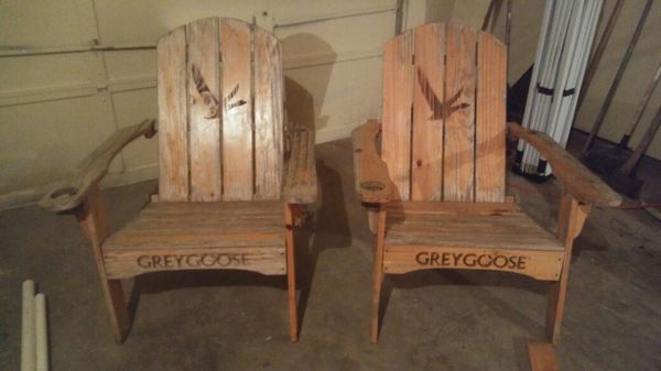 wood adirondack chairs grey goose general in benbrook tx offerup