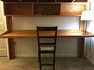 Loft with desk, shelves, and mattress. for Sale in Woodbridge, VA