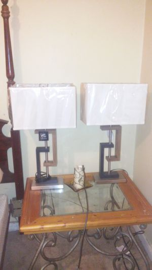 2 lamps for Sale in Temple, GA