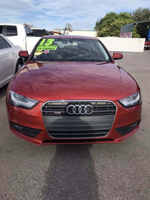 2013 Audi A4 With Navigation system Rear Camera, Bluetooth for Sale in  Tampa, FL - OfferUp