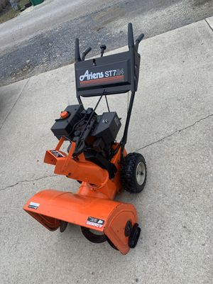 Photo Ariens snow blower , end of season special