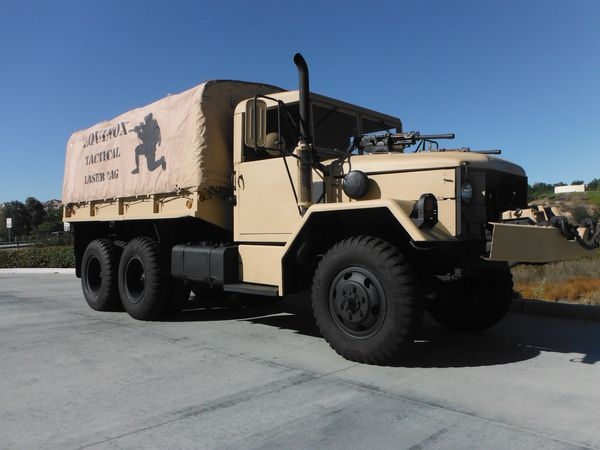 Military Truck 1967 M35A2 2 5 Ton Deuce and a Half and