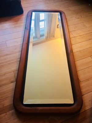 Beautiful Beveled Edge floating glass mirrors (2) for Sale in Lancaster, MA