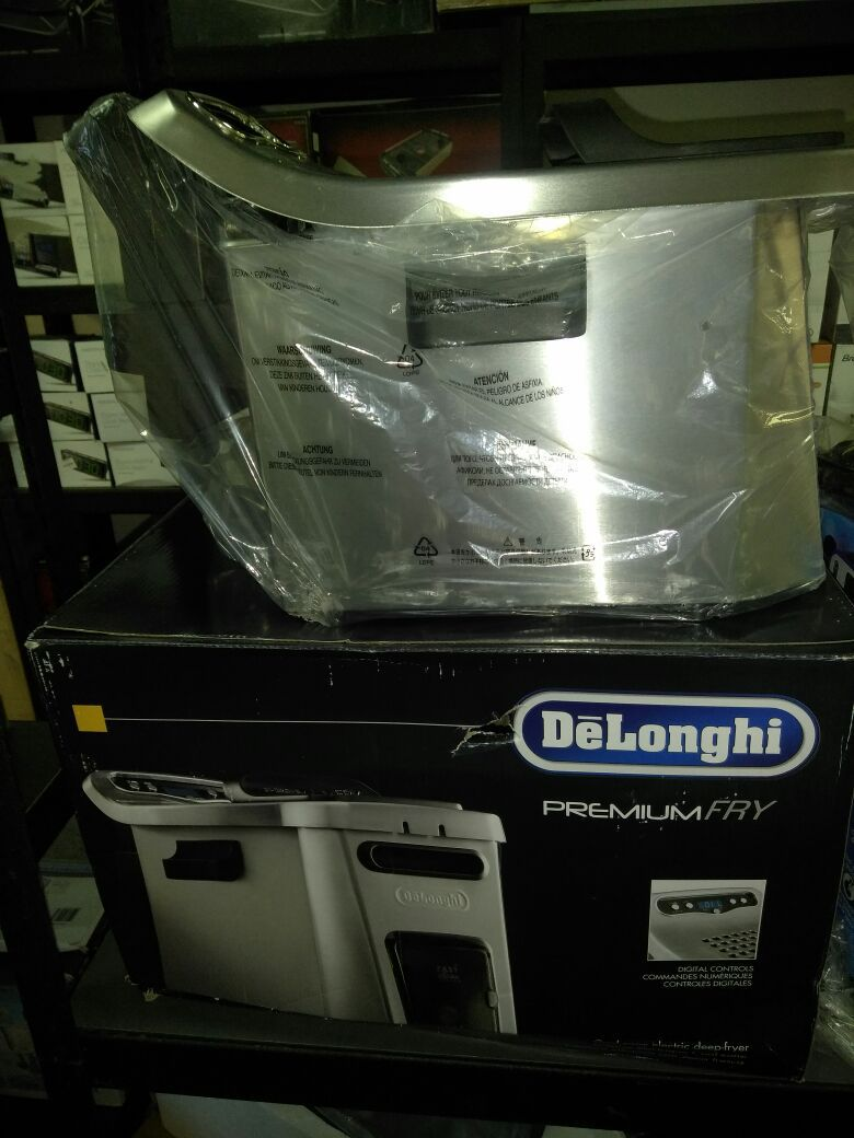 Delongi extra large premium fryer