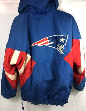 newest 30c18 91c83 Vintage STARTER NFL New England Patriots Men's Puffer Pullover Jacket for  Sale in Santa Clara, CA - OfferUp