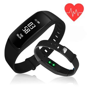 Fitness Tracker, Blood Pressure Heart Rate Monitor Waterproof Activity Tracker,Bluetooth Wireless Smart Wristband Bracelet with Replacement Band for Sale in Stone Mountain, GA