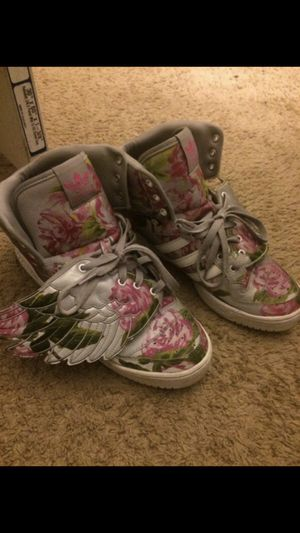 Floral Jeremy Scott's sz 10.5 for Sale in Fort Washington, MD