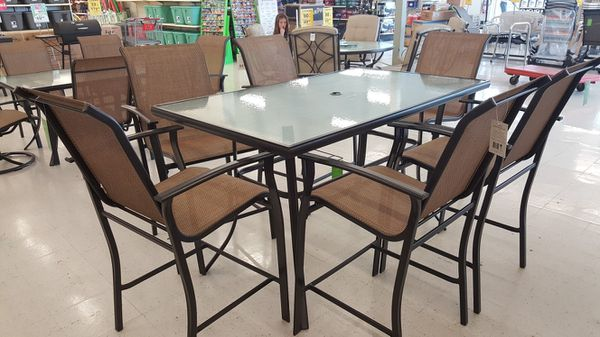 7 Piece Fulton Tall Patio Furniture Set For In Indianapolis Offerup