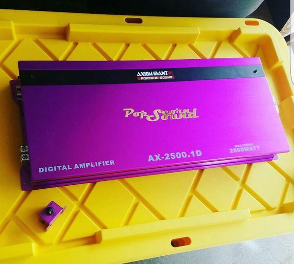 Axiom Giant Popcorn Sound Digital Amplifier for Sale in Anaheim, CA -  OfferUp