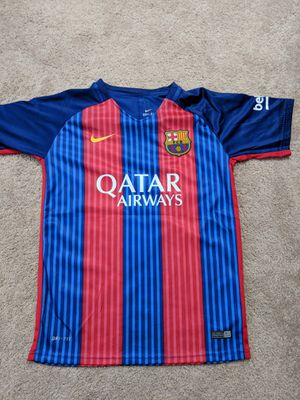 Barcelona Messi jersey for Sale in Gainesville, VA