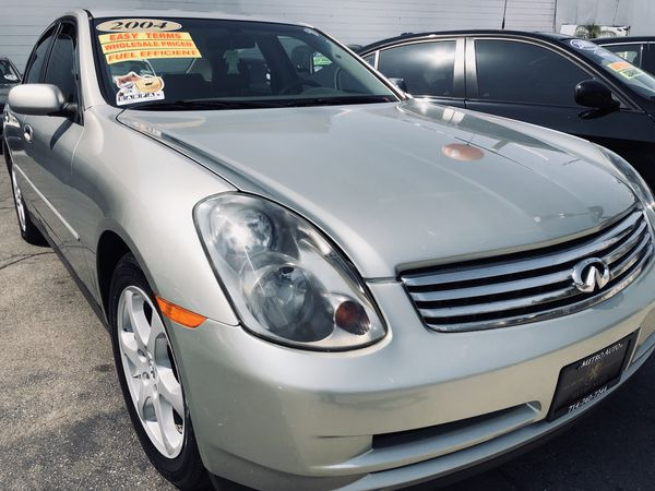 2004 Infiniti G35 Sedan W 146k Miles Can Finance Cars Trucks