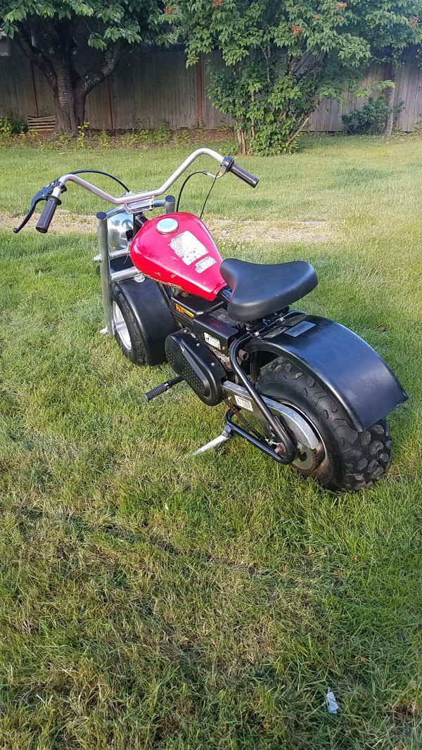 Mini Bike Seat Shocks : Mini bike with big motor for sale in kent wa offerup