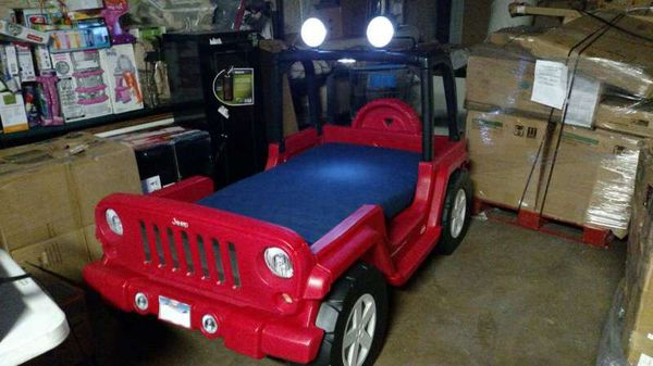 little tikes jeep bed instructions