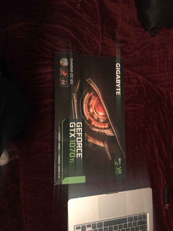 Graphic Card - GIGABYTE - GeForce GTX 1070 Ti for Sale in San Francisco, CA  - OfferUp