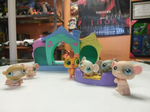 Littlest pet shop lot 3 for Sale in OH, US