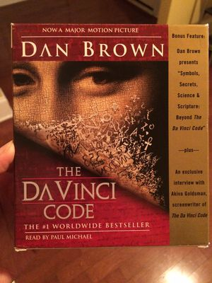 Da Vinci Code audiobook CD for Sale in Cary, NC