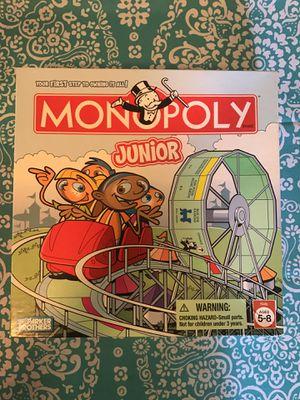 Kids board game- Monopoly Jr. for Sale in Vista, CA