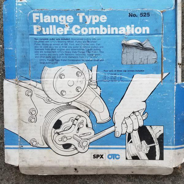 OTC-525 FLANGE PULLER SET