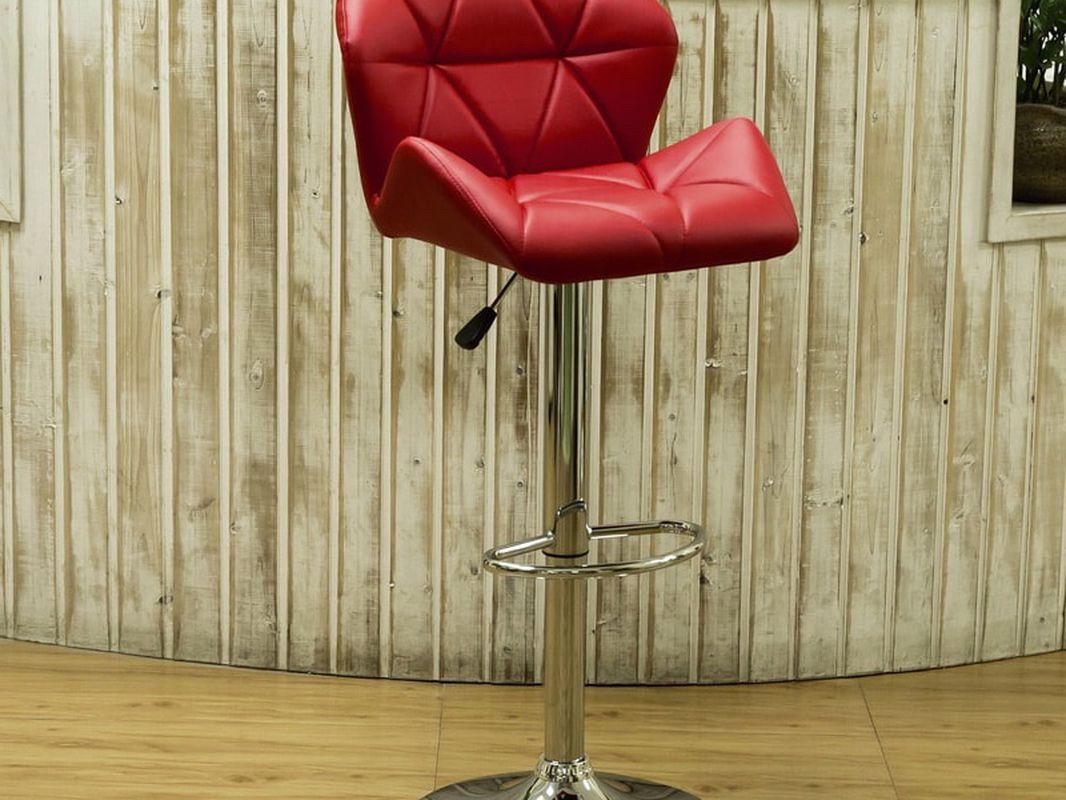 Red Bucket Barstools