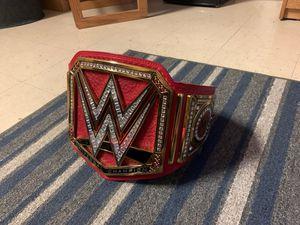 Photo WWE Universal Championship