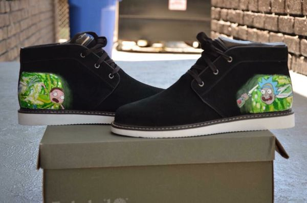6a7e4048dcbc Custom rick and morty timberlands for Sale in Los Angeles