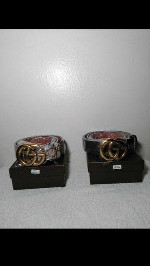 Gucci belts for Sale in Richmond, VA