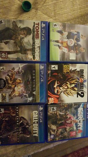 PS4 Games for Sale in Fairfax, VA