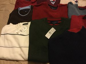 22 Men's Sweaters - L and XL - Tommy Nautica Timberland etc for Sale in Germantown, MD