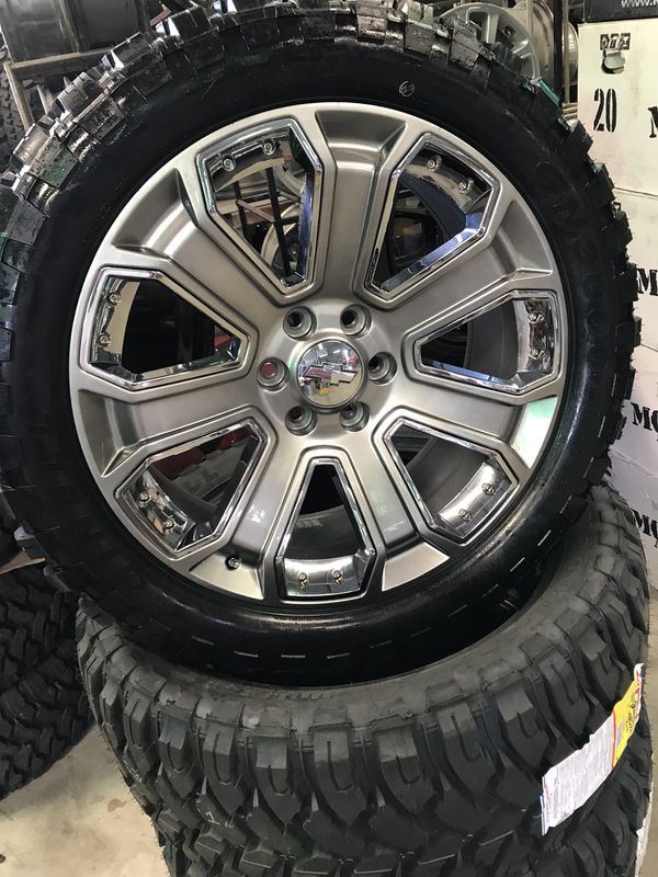 "22"" gmc Denali rep wheels on 33s for Sale in Houston, TX ..."