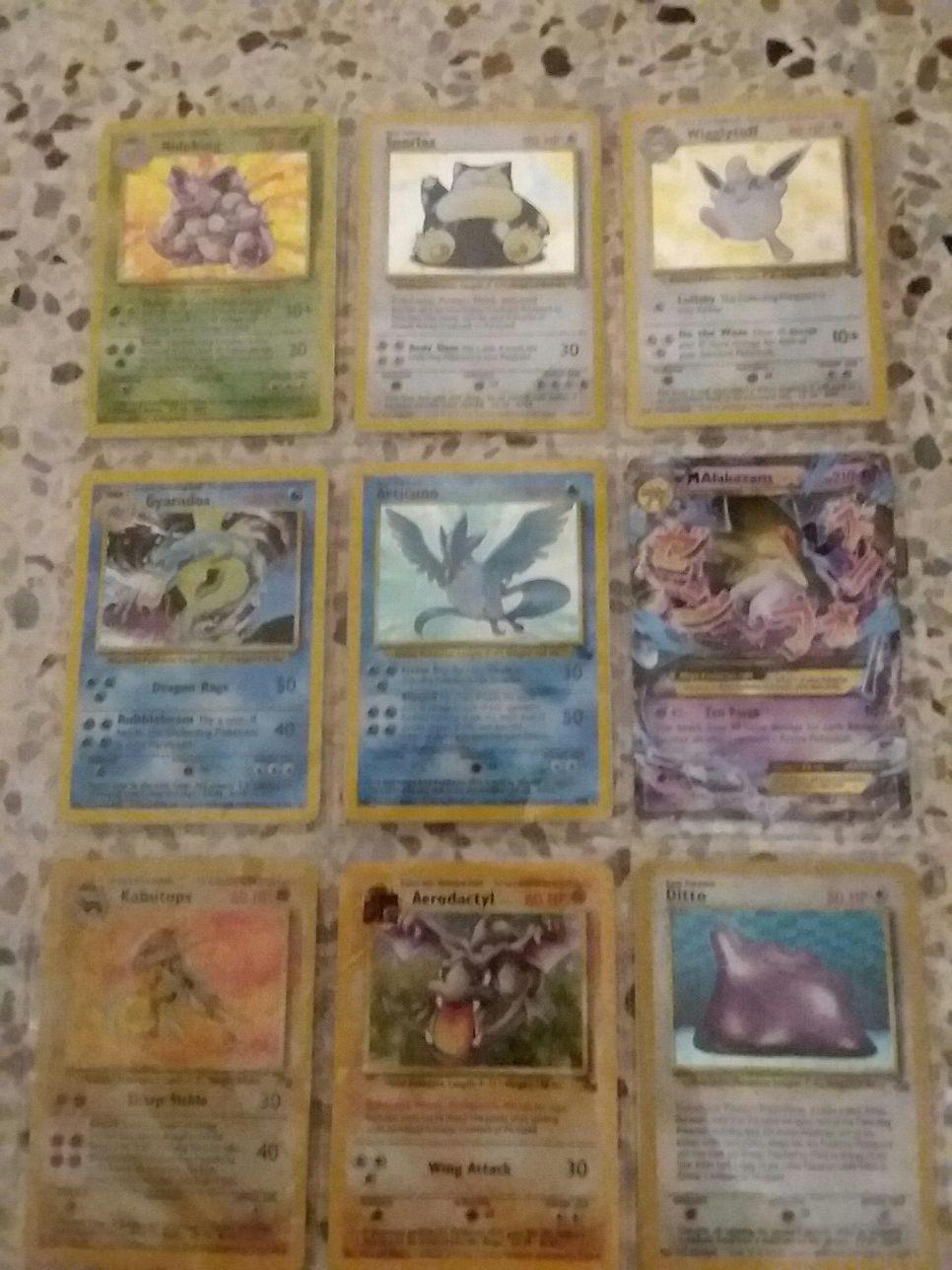 Pokemon Cards 1999 Wizards