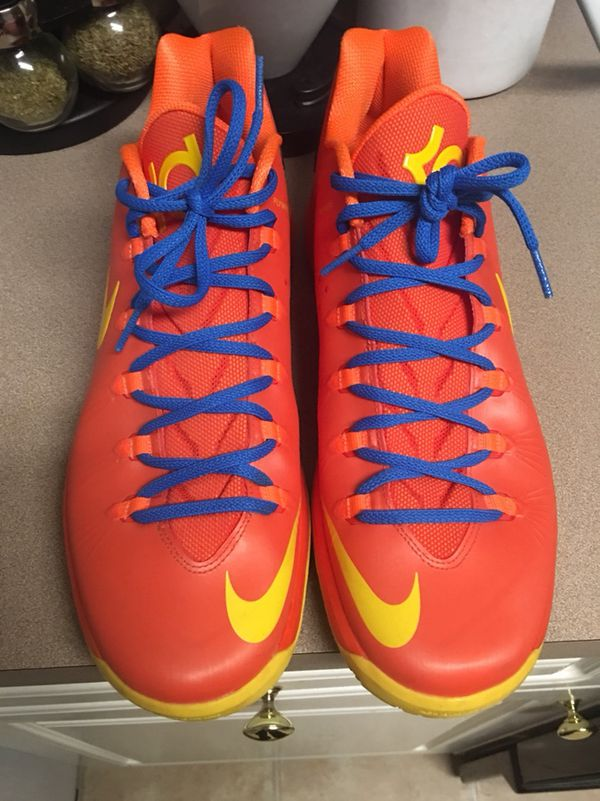 "09ef7c47b84 Nike KD V Elite ""Creamsicle"" Size 12 for Sale in Raleigh"