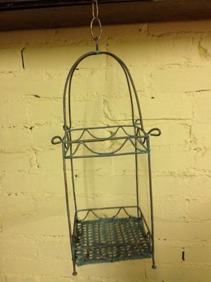 Photo Wire Bird Cage (ready for a DIY craft or plant)