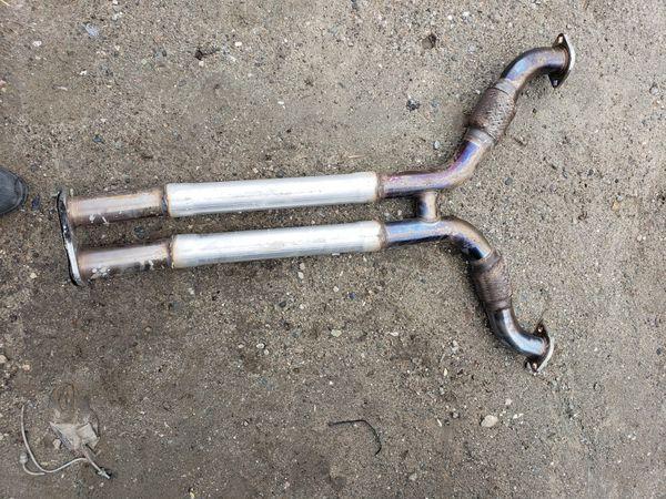 350z hks exhaust y pipe for Sale in Riverside, CA - OfferUp