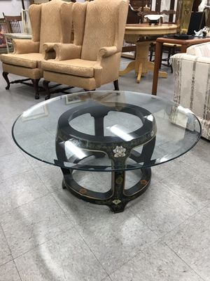 Glass Top Coffee Table for Sale in Fort Washington, MD