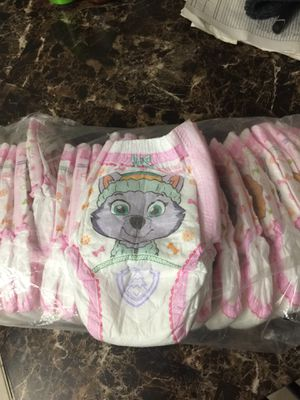 Free training diapers 2t-3t for Sale in Manassas, VA