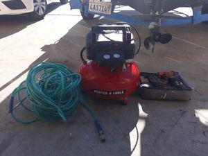Roofing tools compressor nail gun for Sale in El Cajon, CA