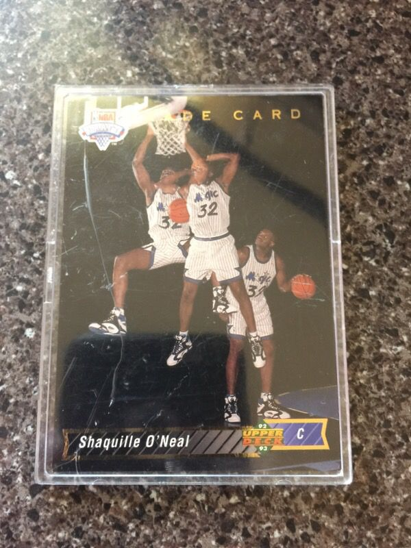 Shaquille Oneal Rookie Card For Sale In Winthrop Ma Offerup