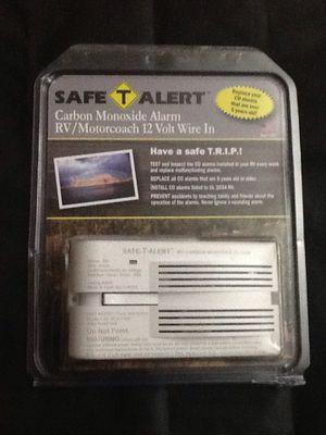 Safe T Alert Carbon Monoxide Alarm for RV / Motorcoach 12 Volt Wire In Model 65-541-WT for Sale in Earleville, MD
